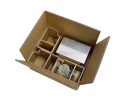 内置隔挡包装纸箱